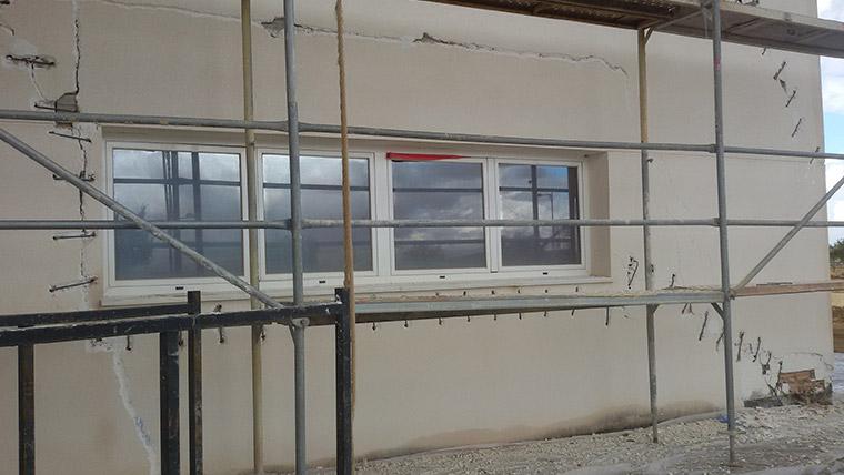 Rehabilitación de fachadas de oficinas