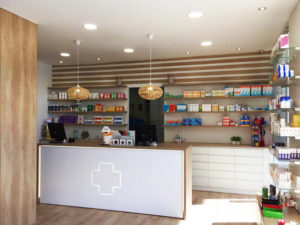 Reforma farmacia Castillo